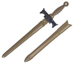 Kinder Ritterschwert Spielzeug Kunststoff ca. 65 cm , Farbe wählen:gold