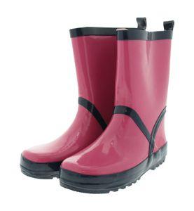 Playshoes Gummistiefel Regenstiefel Pink/Marine - Mädchen, Größe:30/31, Farbe Playshoes:pink/marine