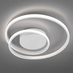 LED Deckenleuchte, Ring Design, dimmbar, 39 cm, ZIBAL