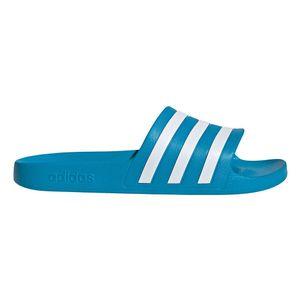 adidas Adilette Aqua Badelatschen - blau/weiß 44 2/3