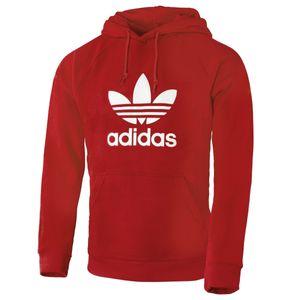 Adidas Kapuzenpullover rot XL