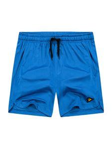 Herren Sommer Lässig Einfarbig Sporthose Sportshorts,Farbe: Blau,Größe:XL