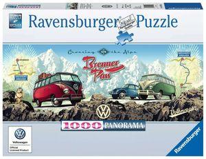 Mit dem VW Bulli über den Brenner Ravensburger 15102