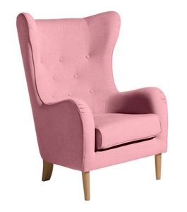 Max Winzer Miriam Ohrenbackensessel - Farbe: rosé - Maße: 83 cm x 83 cm x 111 cm; 26901-1100-2070506-EIC