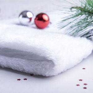 Nikolausmütze 145900  BigBuy Christmas Farbe: Weiß