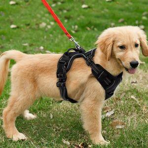 M Hundegeschirr Dog Brustgeschirr No-Pull Einstellbar Gepolstert Powergeschirr für Hunde kleine / mittlere / große / Hunde