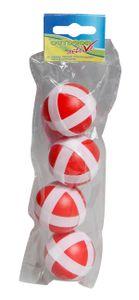 OA Ersatzbälle für Klettscheibe, 4 Stück