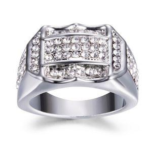 Diamond Insert Männliche Männer Ring Business Ring Ein Geburtstagsgeschenk Geschenk ZJJ80703083SL8