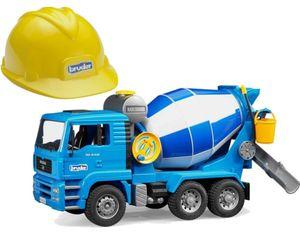 Bruder 1638 MAN TGA Betonmisch - LKW mit Baustelle