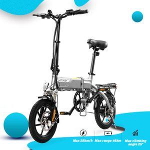 HITWAY Klappbares Elektrofahrrad E Bike Pedelec Cityräder Klapprad Fahrrad aus Luftfahrtaluminium, 7,5Ah Batterie, 250 W Motor, Reichweite bis 45 km