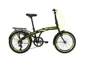 BELDERIA X5 Premium Faltrad, Klapprad in 20 Zoll - Fahrrad für Herren  und Damen - 7 Gang-Schaltung Shimano // Folding City Bike // V-Brake