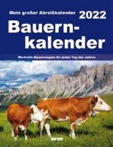 Bauernkalender 2022 Abreißkalender