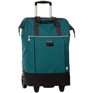 Punta einkaufswagen 38 x 62 x 28 cm Polyester blau/grün