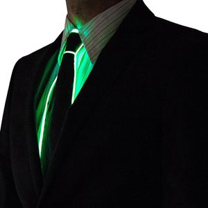 Krawatte blinkende cosplay led krawatte kostuem krawatte glowing dj bar dance karneval party masken coole requisiten