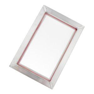 Siebdruckrahmen Siebdruckgewebe Rahmen Bildschirm für Siebdruckfabrik 31x41cm wie beschrieben