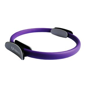 Pilates Ringe Pilatesringe Yoga Gymnastik Widerstandsringe mit 39cm Durchmesser lila