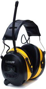 25 dB Original EARMUFF Radio Kapsel Gehörschutz Kopfhörer mit SmartPhone und MP3 Anschluss