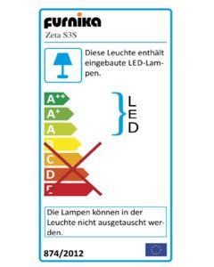JAZZO II Wohnzimmer Komplettset, fertig montiert, Artisaneiche, LED-Beleuchtung:ohne Beleuchtung