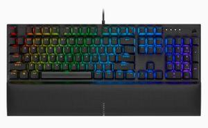 CORSAIR K60 RGB PRO SE Mechanische Gaming-Tastatur — CHERRY VIOLA
