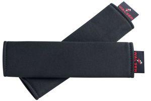 Serie Modulo Doppelpack 2 weiche Polyester Gurtpolster schwarz