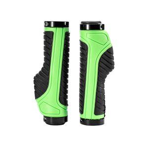ROCKBROS Fahrrad Lenkergriffe Ergonomisch Lock-On Griffe 1 Paar grün
