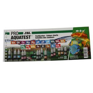 JBL ProAquaTest Sortiment Farbkarten
