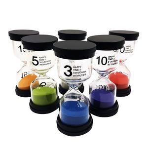 Sanduhr-Set Farben Sanduhr Minuten Sanduhruhr Sanduhr Weiß Timer wie beschrieben