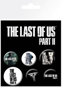 GB Eye - The Last Of Us 2 Ellie - Ansteckbutton-Set, 6 -teilig
