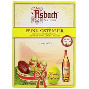 Asbach Weinbrand Pralinen Ostereier aus Zartbitter Schokolade 150g