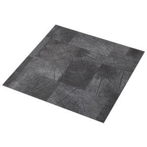 vidaXL PVC-Laminat-Dielen Selbstklebend 5,11 m² Holzoptik Grau