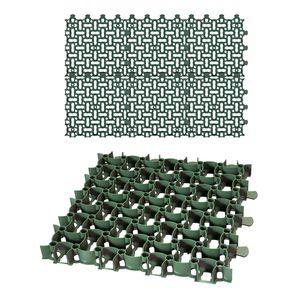 6x Rasengitter Paddockplatte 50x50 cm Reitplatzmatten Rasenmatten Rasenwaben Kiesgitter