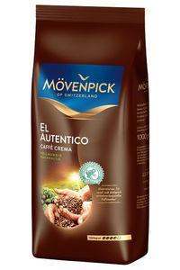 Mövenpick El Autentico Caffè  Crema | ganze Bohne | 1000g