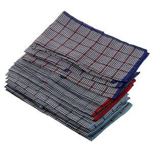 12 x Herrentücher (Es gibt drei Farben, die jeweils 4 Stück hankerchiefs in einer Farbe)  2 40x40cm