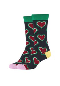 Fun Socks 2er Pack Socken mit lustigem Motiv navy One Size
