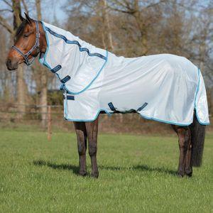 Horseware Amigo Bug Rug - Azure Blue/Electric Blue, Größe:145