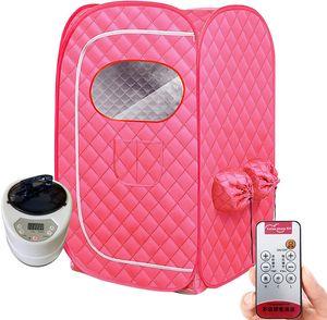 Dampfsauna Heimsauna Saunakabine Slimming Folding Sitzsauna Mobile Sitzsauna Wärmekabine 1000W 2L Tragbarer Spa-Raum Home  mit Intelligente Fernbedienung