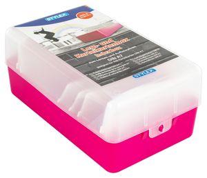 Lernbox / Karteikasten / A7 / Farbe: pink