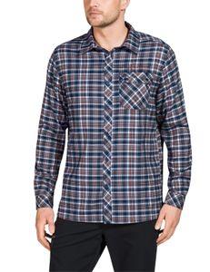 VauDe Herren Wander Freizeit Langarm Flanellhemd Men's Neshan LS Shirt II cobalt, Größe:S