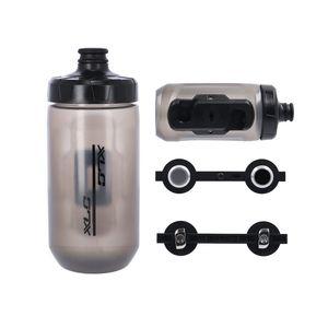 XLC MR-S05 MRS Trinkflasche 450 ml, inkl. FIDLOCK System, transparent (1 Set)