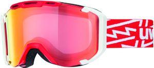 Uvex Snowstrike Vfm, Color:red-white
