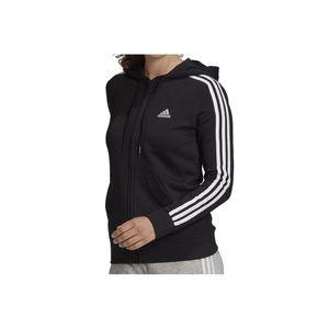 Adidas W 3S Ft Fz Hd Black/White L