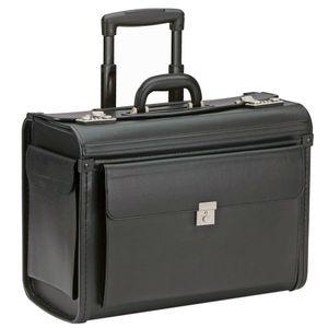 Dermata Pilotenkoffer Trolley 48 cm Laptopfach