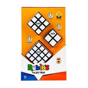 Original Rubik's Cube Set Tiled Trio Rubik Zauberwürfel Würfel 4x4 3x3 und 2x2