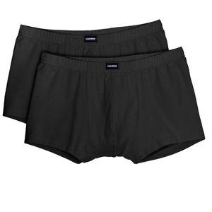 Ceceba 2er-Pack Pants große Größen schwarz, deutsche Wäschegröße:7