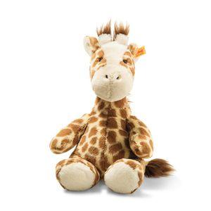 Steiff 068157 Soft Cuddly Friends Girta Giraffe Kuscheltier, Hellbraun