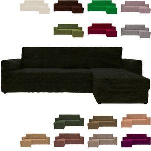 Eck Sofabezug Sofahusse Sesselbezug Sesselüberwurf Sofahusse Links oder rechts, Farbe:hellhoney, Variante:Rechts