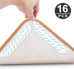 Teppichgreifer Antirutschmatte, 16 Stück Antirutschmatte für Teppich, Rug Grippers Rutschfester Teppichunterlage