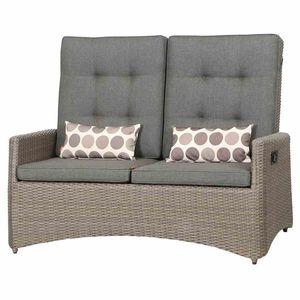 Siena Garden Lounge Sofa / Move Bank Teramo Polyrattan bronze
