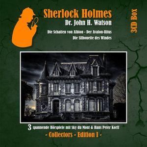 Sherlock Holmes 3-CD Box Edition 1 (Folge 1-3)