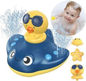 Badespielzeug Baby Badespielzeug Wasserspielzeug Sprühwassersäule Schwimmende Baden Spielzeug Pool Wasser Spielzeug für ab 1 Jahr